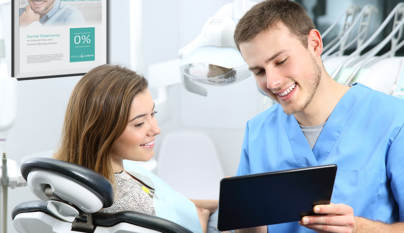 Dentist With Ipad